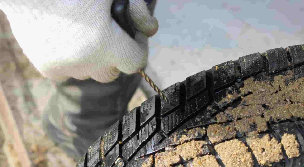 Pasos para reparar un pinchazo