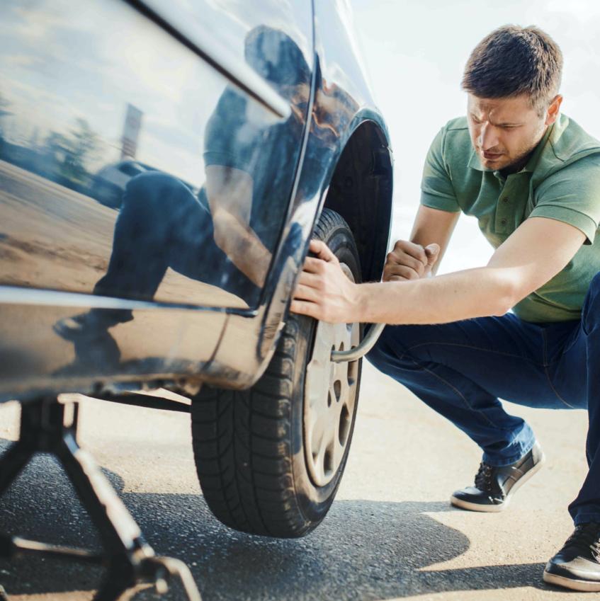 Cambiar neumático