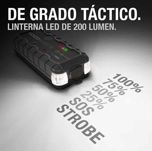 Luz accesoria de batería