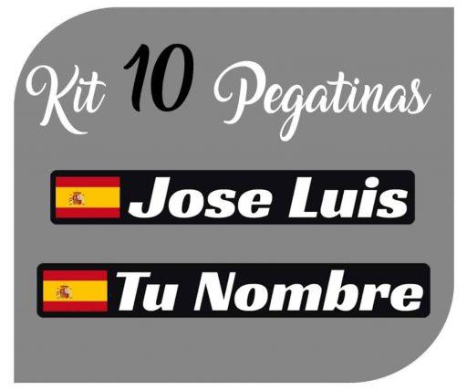 Pegatina de la bandera de España