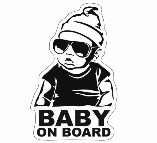 Etiqueta de Baby on Board