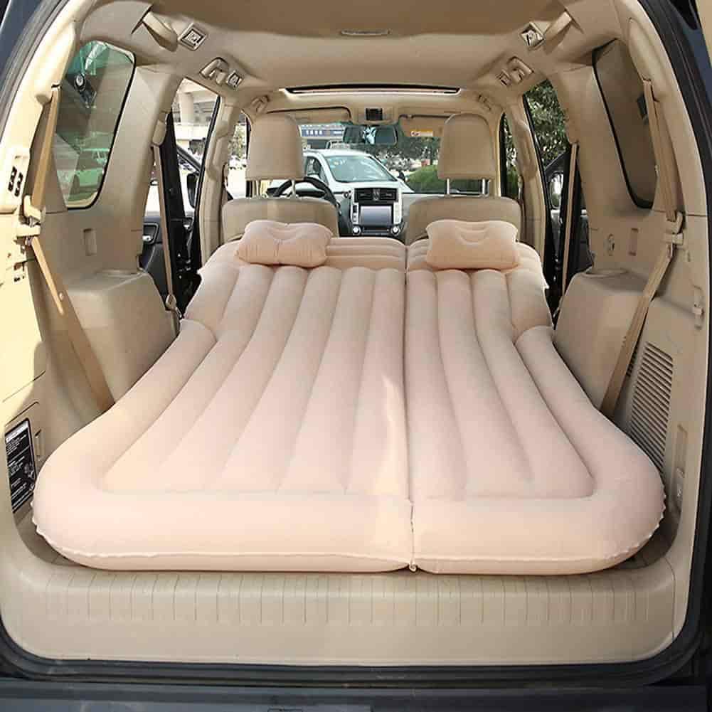 colchón para coche
