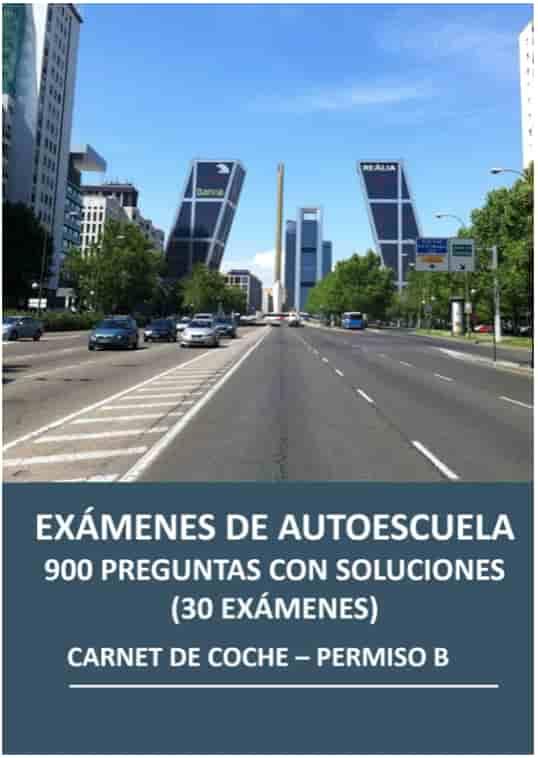 Libro Examen de Autoescuela