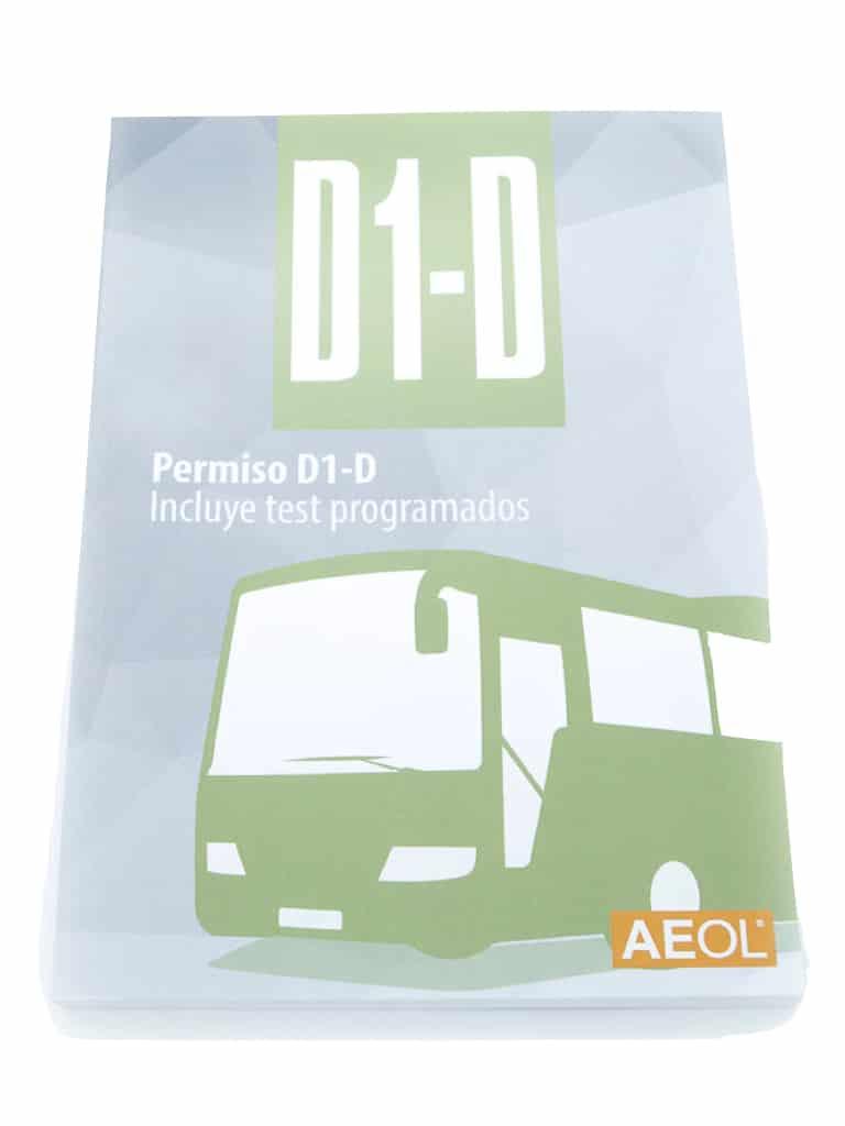 Libro Carnet de Conducir D1-D
